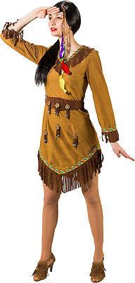 Indianer Indianerin Apache Damen Indianerkostüm Kostüm Kleid Indianerkleid - Indianerin Kostüm