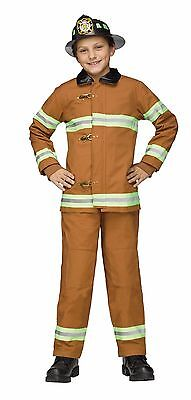 Deluxe Fireman Firefighter Child Costume