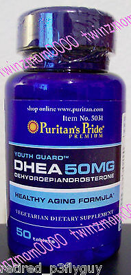 DHEA 50mg Youth Guard Healthy Aging Formula 50 Tablets
