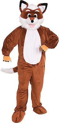 Fox Mascot Adult Mens Costume Nature Animal Funny Theme Party Cute - Cute Party Animal Kostüm