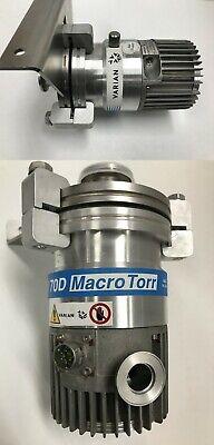 Varian Turbo-v 70d Tv70d Macro Torr Turbo-molecular Vacuum Pump 9699361 Vg