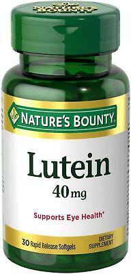 (Nature's Bounty Lutein 40 mg Softgels, 30 ea)