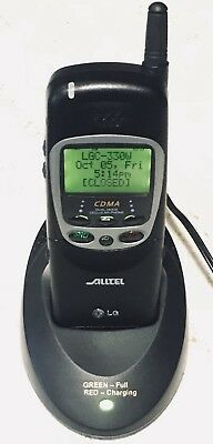LGC-330W Cellular Alltel Cell Phone Battery Wall Charger & Electronic User Guide