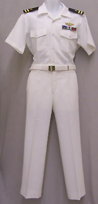 TOP GUN OFFICIAL US NAVY PILOT OFFICERS UNIFORM HALLOWEEN COSTUME TOM CRUISE