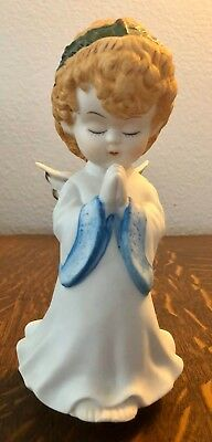 Music Box Musical Porcelain child angel praying  Angel Musical Music Box