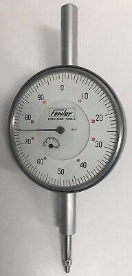 Fowler 52-520-200 Dial Indicator 0-.500 Range .001 Graduation