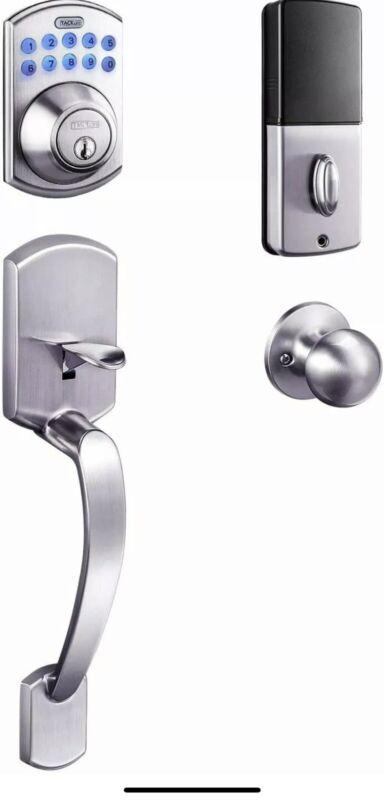 Keypad Deadbolt, Tacklife Electronic Keypad Lock Single Cylinder Front Door Hand
