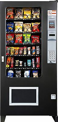Ams Glass Front Snack Vending Machines 4 Wide Brand New Made In America
