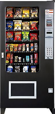 Candy Chip Snack Vending Machine Ams 32 Select Vendor Coin Bill Changer