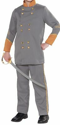Confederate Officer Child Costume Patriotic Jacket Pants Halloween Civil War New (Confederate Halloween Costume)