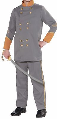 Confederate Officer Child Costume Patriotic Jacket Pants Halloween Civil War New