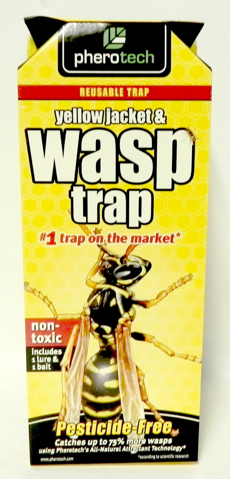 Yellow Jacket & Wasp Trap #1 Trap on the Market by Pherotech