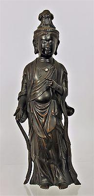 Chinese Bronze Buddisht Statute of the Kwan Yin