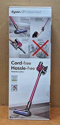 Dyson V7 Motorhead Cord-Free Stick Vacuum - Fuschia (227591-01)