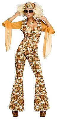Auult 70s Disco Diva Costume  (70s Disco Diva Costume)