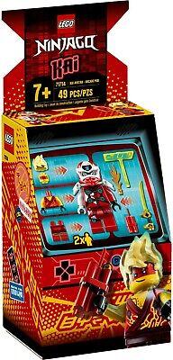 Lego Ninjago Masters Of spinjitzu 71714 Kai Avatar Arcade Pod Building Kit New