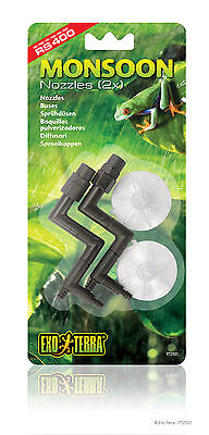 Exo Terra Replacement - Replacement Nozzles (2 Piece) PT2501 for Exo Terra Monsoon RS400