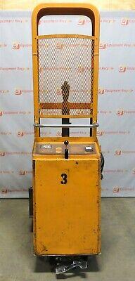 Presto Hydraulic Die Table Lift B678 1000lb Capacity Electric Stacker