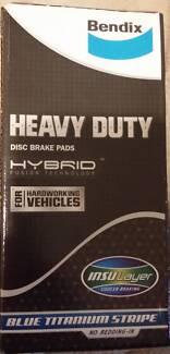 Bendix Heavy Duty Disc Brake Pad Set DB1141HD for Toyota Hilux Footscray Maribyrnong Area Preview
