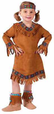 Native American Indian Toddler Girls Costume Renaissance Theme Party Halloween
