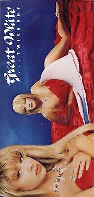 Usado, GREAT WHITE - Twice shy - Only Long Box - US 1989 - Capitol Records - C2-90640 segunda mano  Barcelona