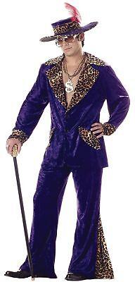 Gangster Man Erwachsene Herren-Kostüm 60er Jahre 70er Jahre Retro Jacke (Er Man Kostüm Erwachsene)
