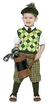 Future Golfer Child Costume Shirt & Pant Halloween Dress Rasta Imposta Toddler (Golfer Halloween Costume Toddler)