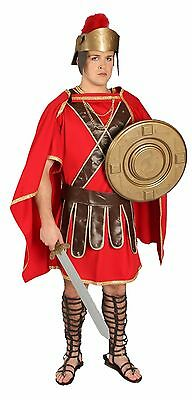 Adult Roman Trojan Warrior Spartan Soldier Theatre Quality Halloween CostumeLARP](Trojan Man Halloween Costume)