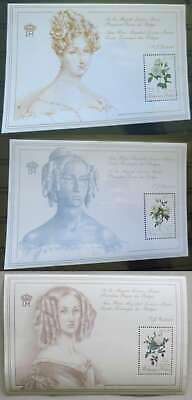 BELGIUM 3 Special Sheet **  1988-1990 ROSES /Bw131