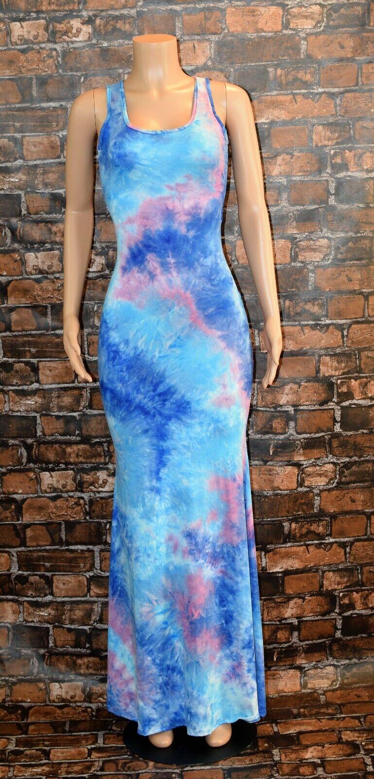 Maxi Dress Tie Dye 9