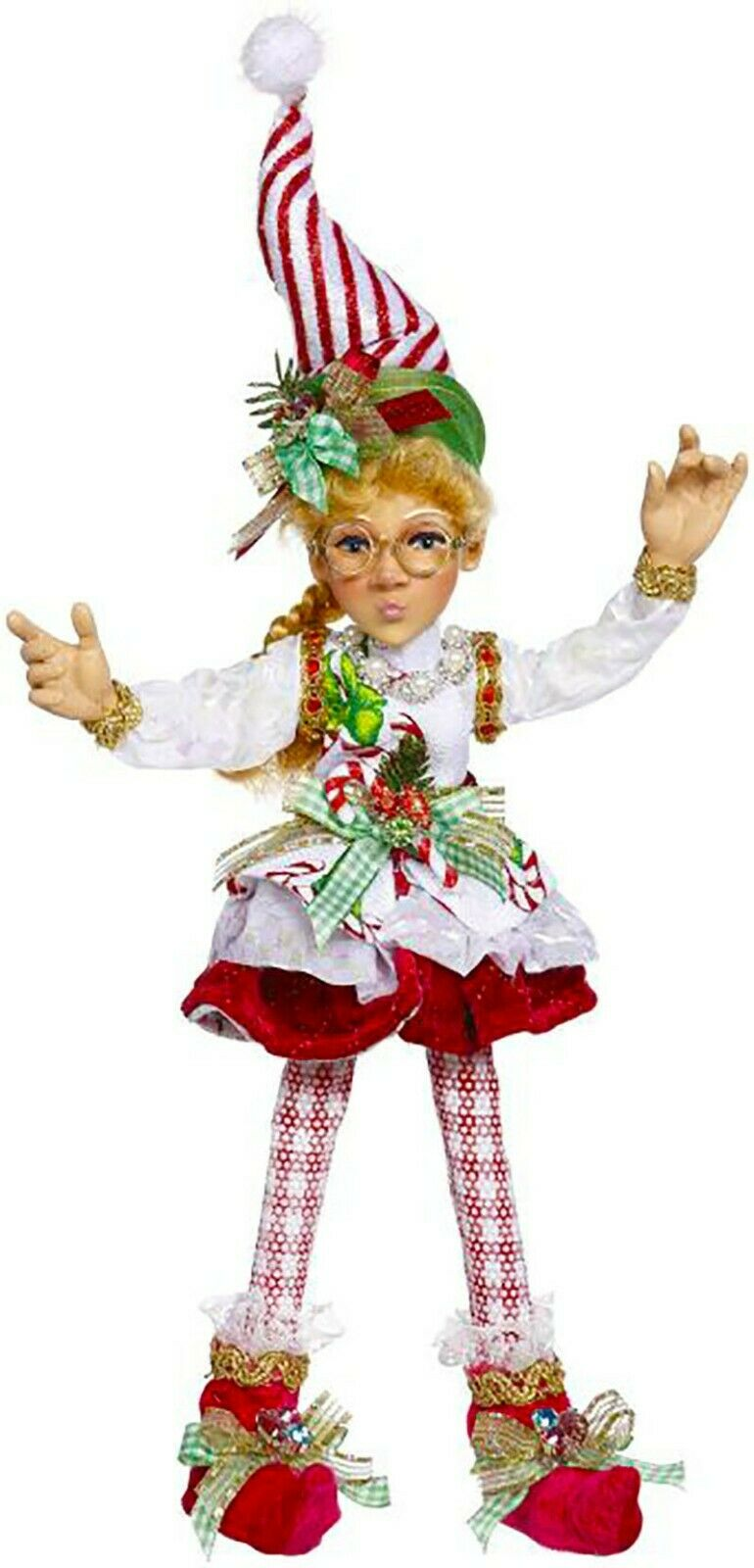 "[Mark Roberts Elves - North Pole Sweet Shop Elf 51-05628 Small 12.5"" Figurine </Title]"
