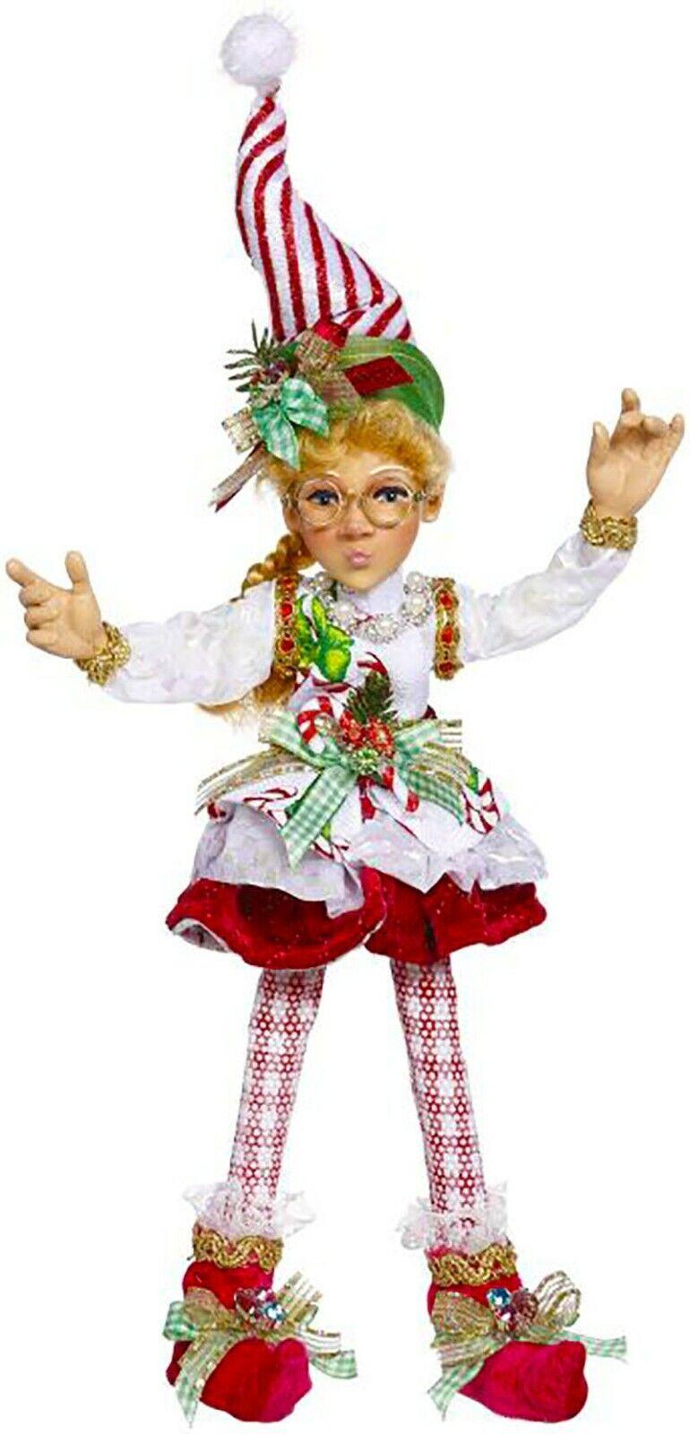 "[Mark Roberts Elves - North Pole Sweet Shop Elf 51-05628 Small 12.5"" Figurine </Title]"