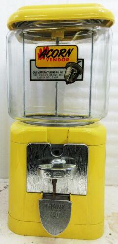 Acorn 1c Round Gum Dispenser Circa 1950