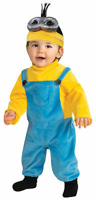 Minion Kevin Toddler Costume Goggles Movie Despicable Me Halloween Jumpsuit