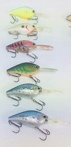 Authentic Lucky Craft crankbaits Fishing lures bass Walleye Lake
