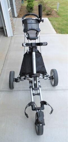 Caddytek CaddyLite ONE Swivel V8 Golf Push Cart Used-Excellent