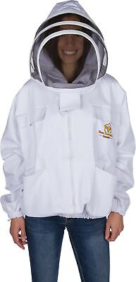 Professional Beekeeping Jacket Self-supporting Fencing Veil For Bee Keepers...