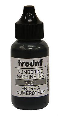 Trodat Numbering Machine Ink Black Tinmk