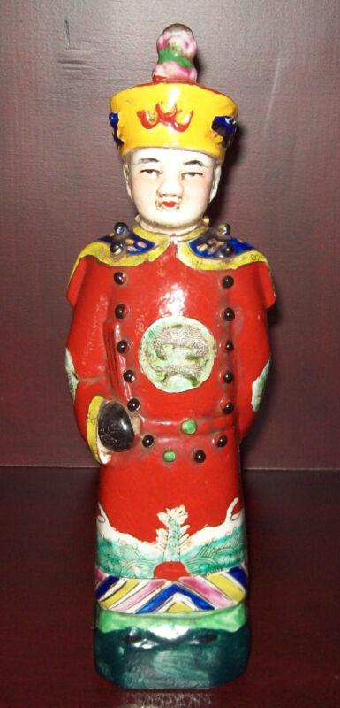 Chinese (Mandarin) Earthenware Figurine