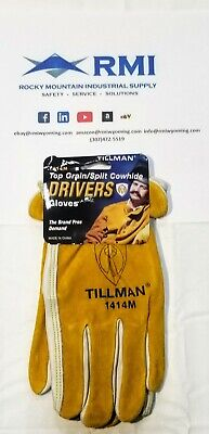 Tillman Leather Drivers Gloves - Cowhide 1414 Medium