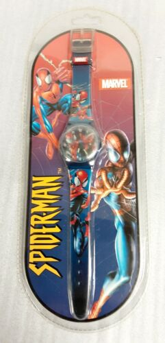 Vintage 2002 Marvel Characters Inc. Spiderman Analog Watch BRAND NEW