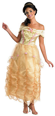 ene Kostüm Prinzessin Disney die Schöne und das Biest (Erwachsenen Belle Prinzessin Kostüm)