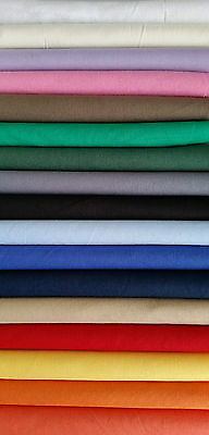 Baumwollstoff uni extrabreit 280cm diverse Farben