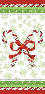 tel Zuckerstange Party Behandeln Begünstigte Rot & Grün (Weihnachten Behandeln)