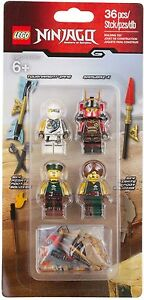 LEGO Ninjago - 853544 Zubehörset Himmelspiraten mit Samurai X & Zane - Neu & OVP