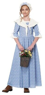Child Colonial Village Girl Costume  - Costume Village
