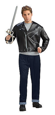 Mens Indiana Jones Costume Movie Black Jacket Pants Adult Mutt Halloween NEW (Halloween Costumes Black Man)