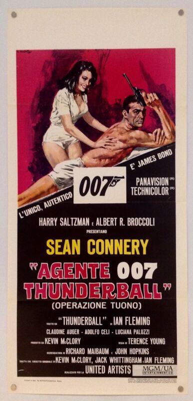 Thunderball (R-1971)- Original Movie Poster