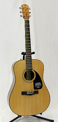 Fender 096-1545-021 CD-60 Version 2 Natural Finish Acoustic Electric Guitar on Rummage