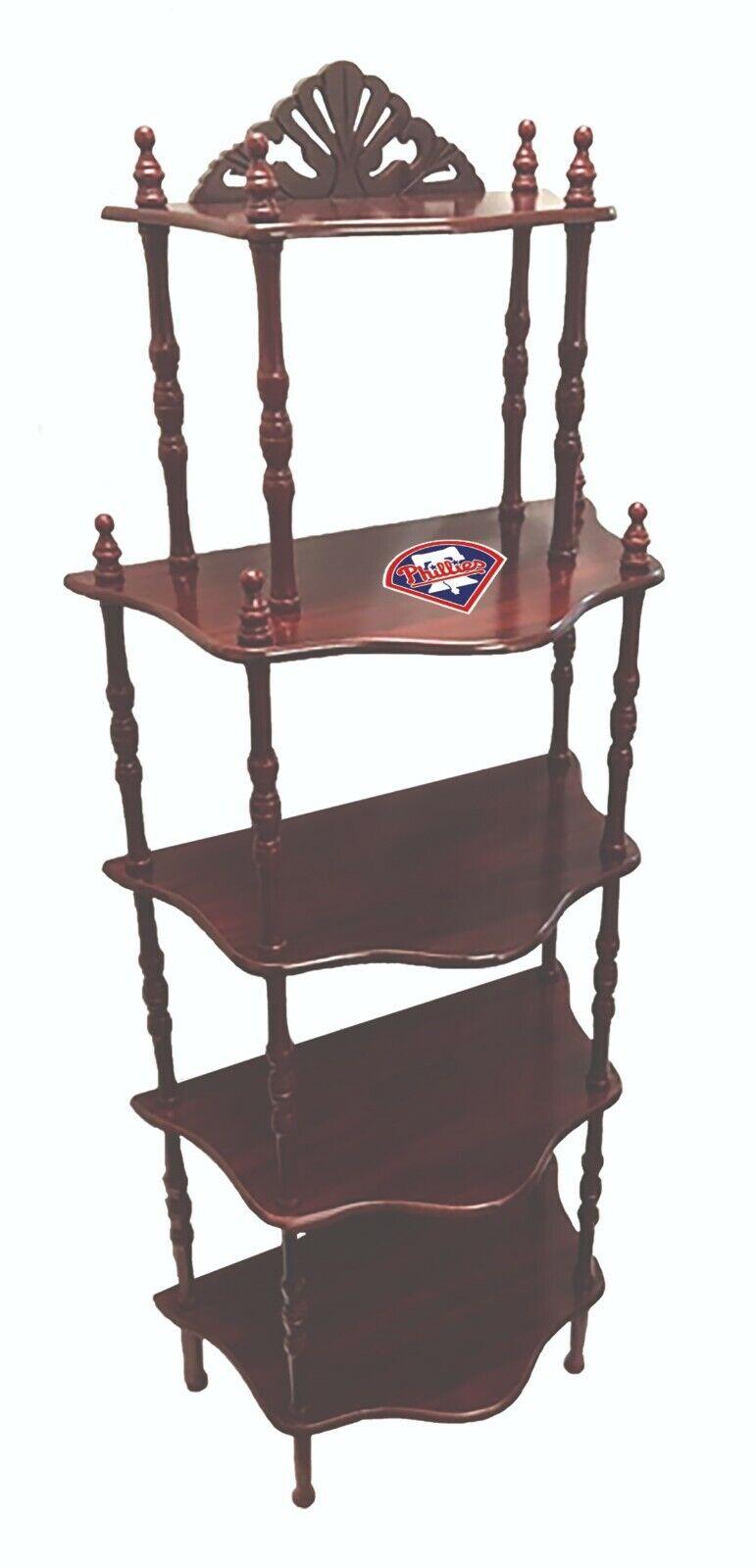 mlb bookshelf or display shelf in a